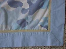 Pottery Barn Teen Window Pannel Curtain Blue Camo