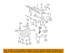 VW VOLKSWAGEN OEM Beetle Wiper Washer-Windshield-Nozzle Spray Jet 6E0955985B