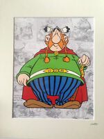 Asterix - Vitalstatistix - Hand Drawn & Hand Painted Cel