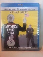 Capitalism: A Love Story [Blu-ray] (2009) AND DIGITAL COPY FOR MOBILE DEVICE NEW