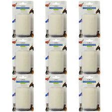 CMS Self Adhesive White 7.5cm Elastic Pro Cohesive Bandage Coban Wrap Rolls x9