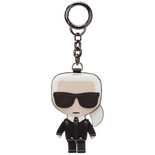 Karl Lagerfeld llaveros mujer k/ikonik dancing 20KW201W3804 Nero piel aro