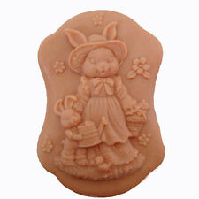 Rabbit - Handmade Silicone Soap Mold Candle Mould Diy Craft Molds 38