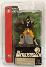 "McFarlane NFL 3"" BEN ROETHLISBERGER Pittsburgh Steelers BLACK Jersey"
