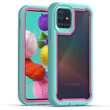 For Samsung Galaxy A51 A71 A20s A20 Armor Case Cover+Belt Clip+Screen Protector