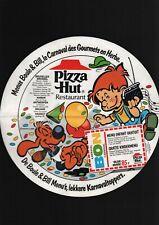ROBA . BOULE ET BILL . MENU PIZZA HUT . ( 1 ) . 1988 .