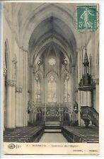 CP 80 SOMME - Moreuil - Intérieur de l'église