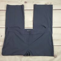 J. Crew Dress Pants Trousers Womens Size 24 Navy Blue High Rise Style J5016 NWT