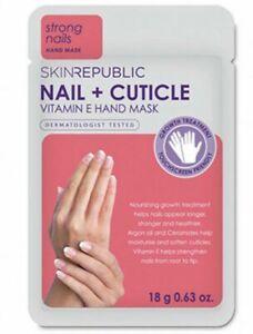 SKIN REPUBLIC NAIL & CUTICLE HAND MASK STRONG NAILS