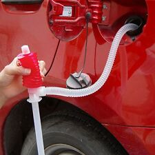 Syphon Tank Pipe Liquid Transfer Siphon Pump Car Oil Water Sink