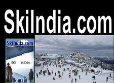 Ski India .com Snow Domain Name For Sale URL Vacation Travel Resort Lodge Powder