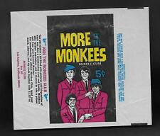 1967 DONRUSS USA MORE OF THE MONKEES TRADING CARDS  WRAPPER