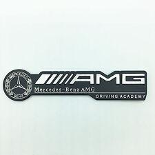 Hot Aluminium AMG Logo Alloy metal Sticker Badge Emblem Fit for Mercedes Benz