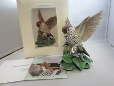 Lenox Fine Porcelain Garden Wood Thrush Bird Collection in Box