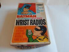 Vintage RARE REMCO Batman Electromagnetic Wrist Radios with box 1966
