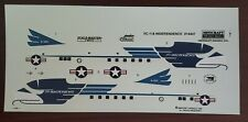 1/144 - MINICRAFT DECAL - USAF - VC-118 INDEPENDENCE - 14447