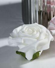 38131 tisch-deko Espuma Flor Rosa Blanco Altura: 5 cm, diámetro: 8 cm