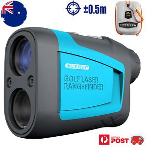 Mileseey Golf Laser Range Finder 600m FLAG-LOCK Distance Speed Measurement AU