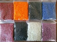 SEA FISHING RIG BEADS 5mm ALL COLOURS - BAG OF 1000 - TO CLEAR