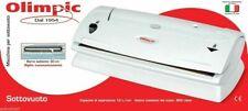 MACCHINA X SOTTOVUOTO AUTOMATICA VELOCE OLIMPIC 53801 BARRA SCALDANTE DA 32CM