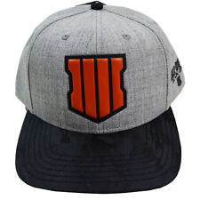 Call of Duty Black Ops 4 Game Matte Weld Logo Snapback Cap Hat Official  Licensed 5107494fc4b9
