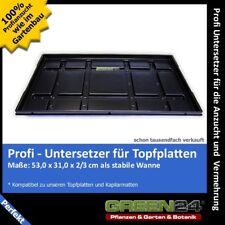 Profi Untersetzer für Topfplatten Anzuchtplatten extra stabil 53 x 31 x 2/3cm