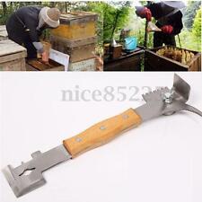 Stainless Steel Bee Keeper J Shaped Hive Tool Multifunction Beekeeping Equipment