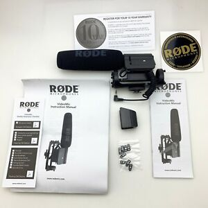 Rode VideoMic Microphone   Shotgun Boom Camera Mount Mic   N3594   Works