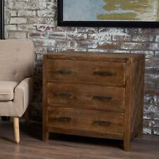 Saffy Traditional Light Brown Finished Mango Wood Cabinet