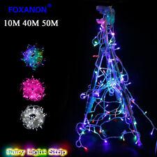 400LED String Fairy Lights Net Mesh Curtain Chrismas Wedding Party Light 50m