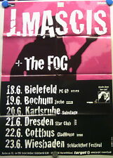Konzertplakat J. Mascis + The Fog