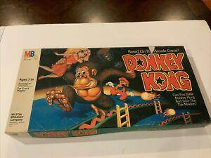 Donkey Kong Milton Bradley Board Game 1982