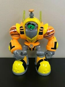 "Planet Jupiter Planet Heroes Gustus 7"" Action Figure, Fisher Price 2007 Mattel"