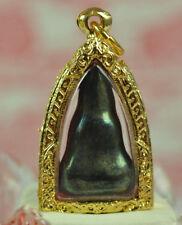 Real Green Phra Nang Phaya LEKLAI Lek lai Top LP Huan Thai Buddha Amulet Pendant