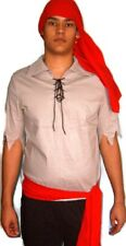 Mens Pirate Pete Outfit Adult Fancy Dress Costume One Size Stag Party