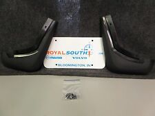 Genuine Volvo S40 V50 Front Mud Guard Kit for painted sills OE OEM 30764294