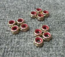 """New listing Vintage 1970's Sims Gold Skateboard Truck Replacement Hardware 1/2"""" Axel Nuts"""