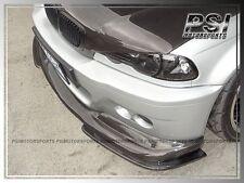 M3 Only BMW 00-06 E46 Coupe Convertible A Type Carbon Fiber Front Bumper 3PCS