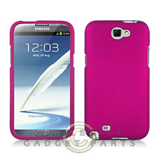 Samsung N7100 Note 2 Shield Rubberized Rose Pink Case Cover Guard Protection