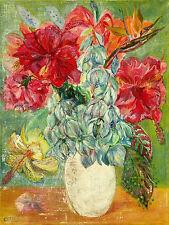 "Australian Oil painting on canvas ""Flowers"" by Yuri Stepanuk. 60 x 80 cm."