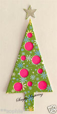NEW ✿ Dots Spots Christmas Tree & Star Die ✿ For Cuttlebug & Sizzix