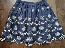 Collette Dinnigan Linen Skirt size L or UK 14