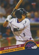 2019 Carolina League Top Prospects Nick Madrigal RC Rookie White Sox