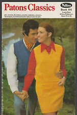 PATONS 104 VINTAGE KNITTING FOR MEN & WOMEN Waistcoats / Vests f