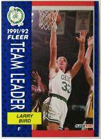 1991-92 Fleer Larry Bird #373 HOF TL Boston Celtics