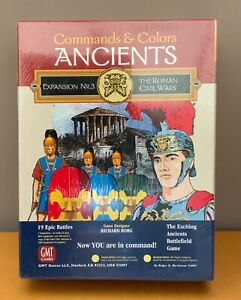 GMT Games - Commandos & Colors Ancients Expansion No 3 - Roman Civil Wars BNIP
