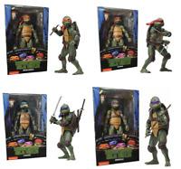 NECA TMNT Teenage Mutant Ninja Turtles 1990 Movie Collection -7'' Action Figure