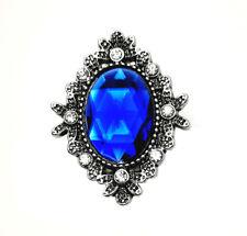 3D Crystal Heart Chunk Charm Snap Button Fit For Noosa Necklace/Bracelet  NSKZ2