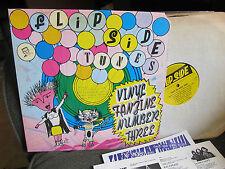 flipside three flip side tunes vinyl fanzine number 3 '87 shonen knife mia lp!