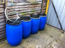 TAMBURO 1 x 120 LITRI Butt d'acqua, Container di immagazzinamento, Bio Diesel Storage, serbatoio, Tamburo